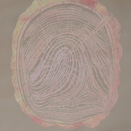 Linocut 4/30, 2018, linocut media print, 49 x 36 cm