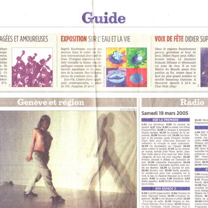 2005 Tribune de Genève